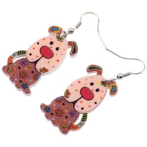 Jewelry - 2/$20 if bundled~~Colorful Dog Earrings